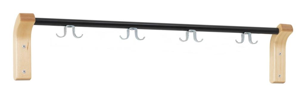 EX125KL Kroklist björk/svart