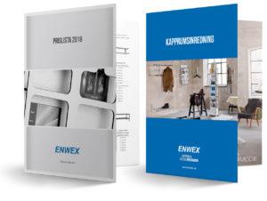 Katalog med inredningsprodukter